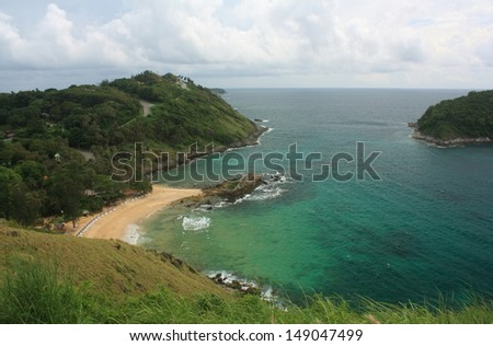 Tropical and exotic island near Phuket