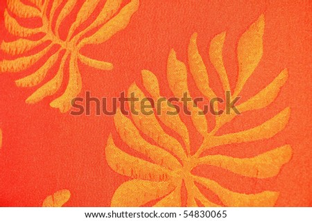Tropical background pattern - stock photo
