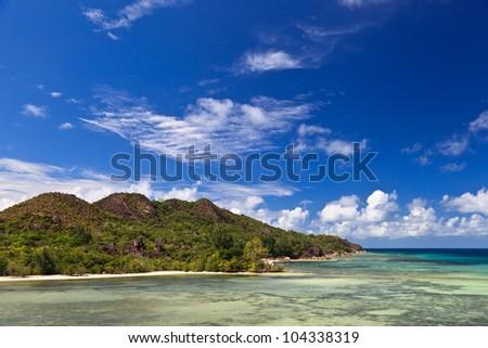 tropical beach - stock photo