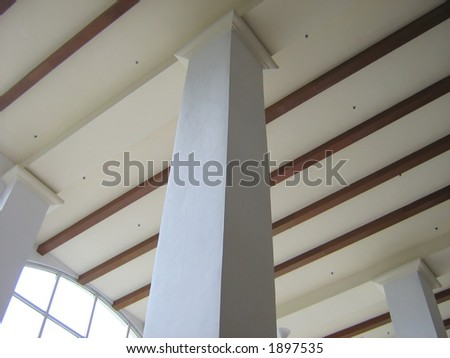 Tropical Ceiling & Column Structure