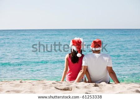 Tropical Christmas - stock photo
