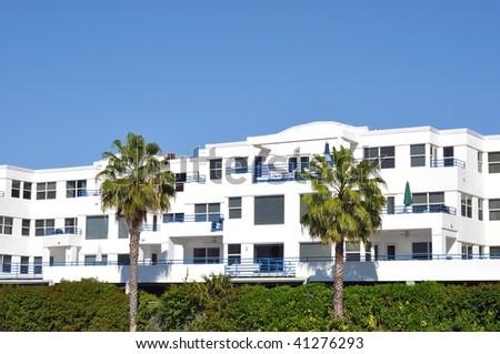 Tropical Condominium Complex - stock photo