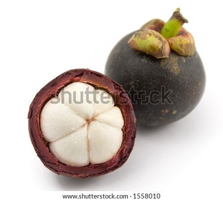 Tropical fruit - Mangosteen (Garcinia mangostana)