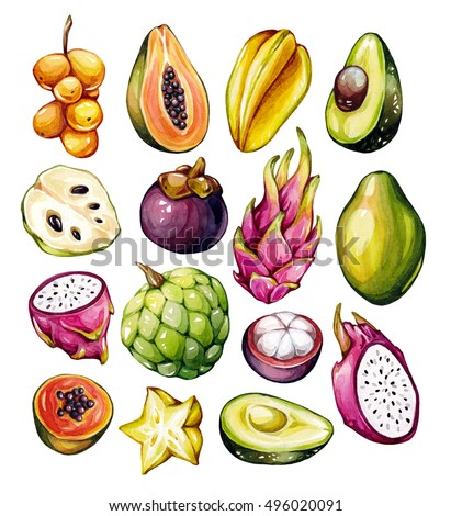 Tropical Fruit Stock Images, Royalty-Free Images & Vectors ...