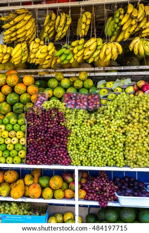tropical fruits tropical climate of Brazil