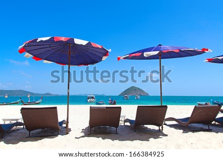 Tropical island near Phuket, Thailand - stock photo