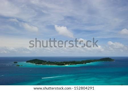 Tropical Islands - stock photo