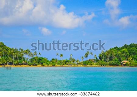 Tropical islands, Thailand - stock photo