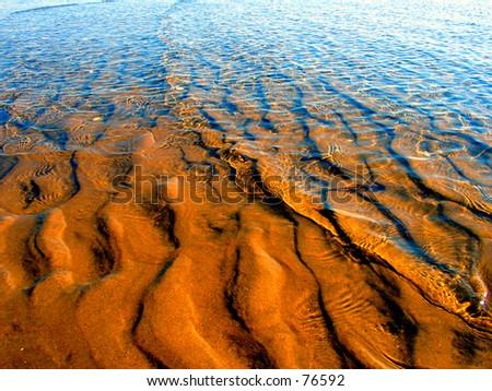 Tropical Ocean Water - stock photo