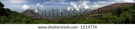 Tropical Panorama - stock photo