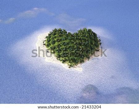 tropical paradise, wedding tour - stock photo