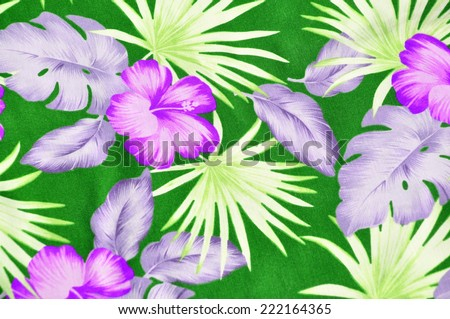 Tropical pattern, useful as a background pattern - stock photo
