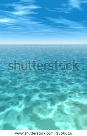 tropical reef - stock photo