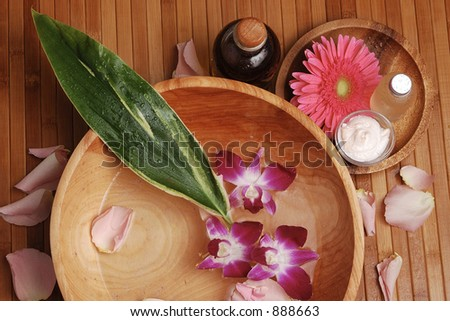 Tropical Spa 06 - stock photo