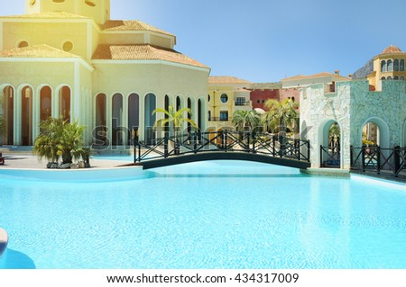 Big beautiful country house pool stock photo 6967762 - Hotels in alicante with swimming pool ...