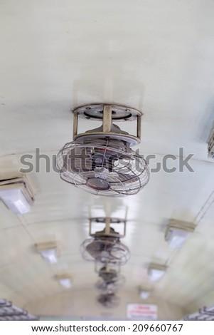 Tropical wooden colonial style ceiling fan stock photo royalty free tropical wooden colonial style ceiling fan aloadofball Choice Image