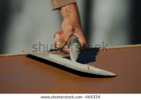 Trowel - stock photo