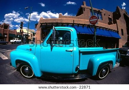 Truck. - stock photo