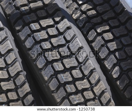 Truck Tires Detail