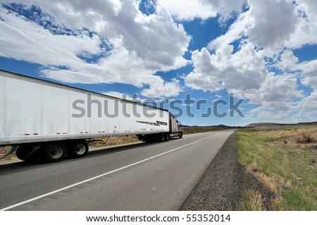 Truck USA - stock photo
