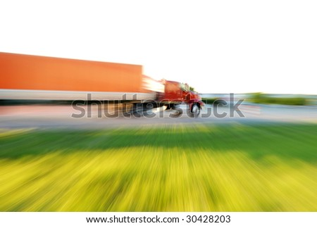 trucking - stock photo