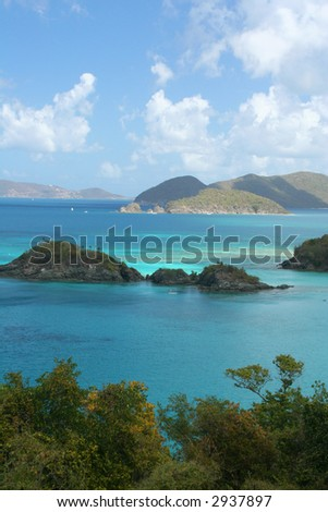 Trunk Bay Scenic Overlook