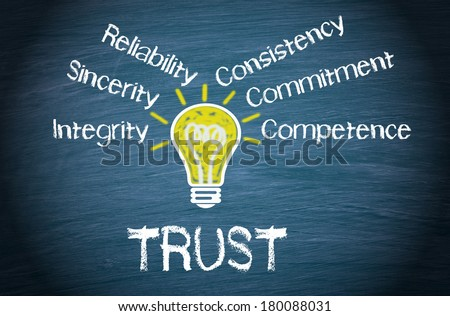 Trust - Business Concept - stock photo