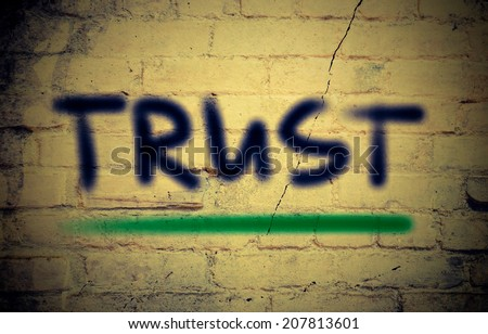 Trust Concept - stock photo