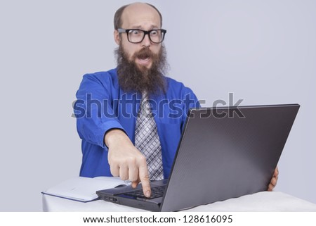 Try to do - Businessman (Series) - stock photo