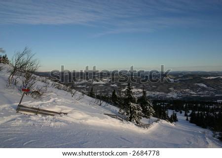 Trysil Norway - stock photo
