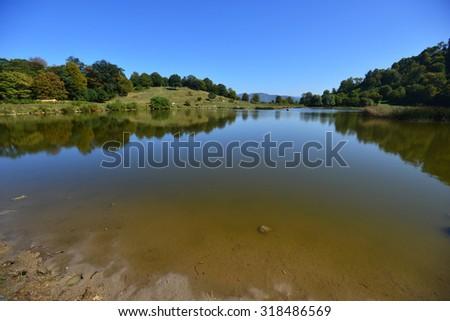 Tsover, lake Dsegh, Armenia - stock photo