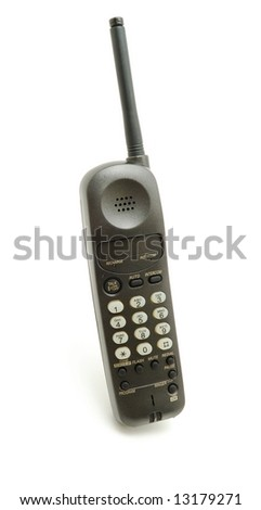 Tube cordless telephone