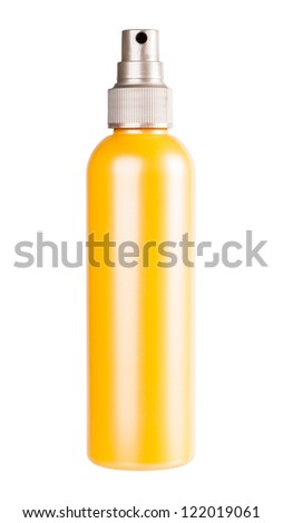 Tube isolated on white background - stock photo