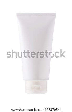 Tube of cream for skin care