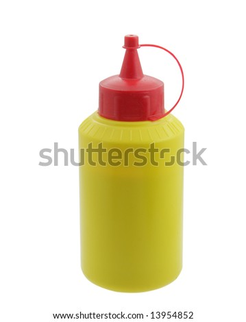 tube of glue isolated on white background
