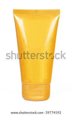 Tube with sun protection