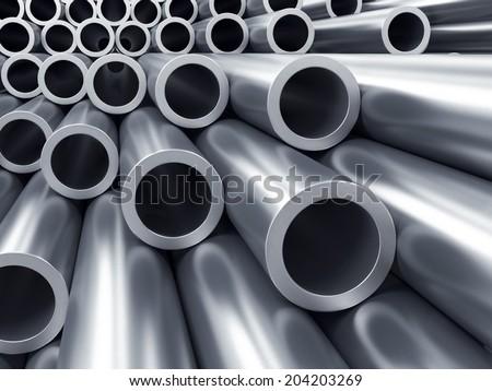 Tubes  - stock photo