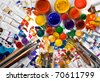 Tubes of paint - stock photo