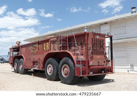Tucson arizona usa april 25 2016 stock photo royalty free tucson arizona usa april 25 2016 tucson airport fire department fire freerunsca Choice Image