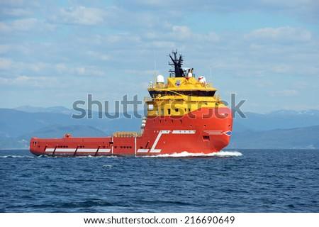 Tugboat - stock photo