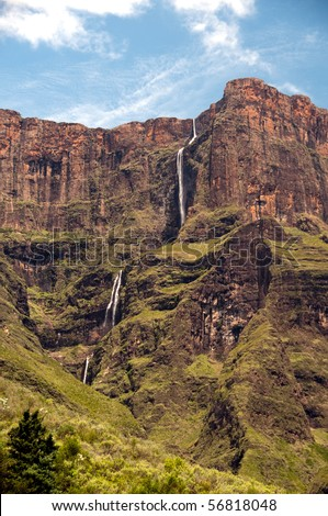 Tugela Falls in South Africa