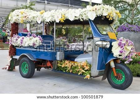 Tuk-Tuk Thailand - stock photo
