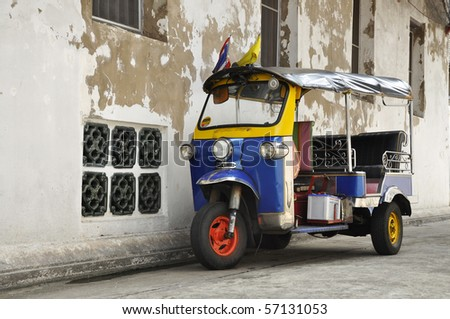 Tuk Tuk Thailand Car Scooter