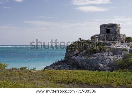 Tulum Ruins - stock photo