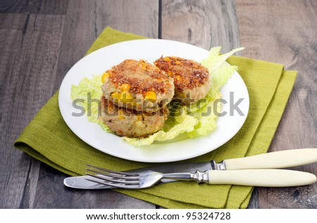 Tuna cake Stock Photos, Images, & Pictures | Shutterstock