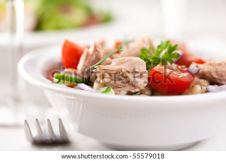 Tuna salad - stock photo