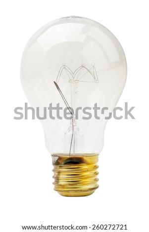 tungsten lamp - stock photo