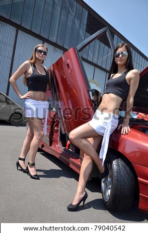 tuning car - stock photo