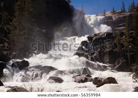 Tuolumne Falls - stock photo