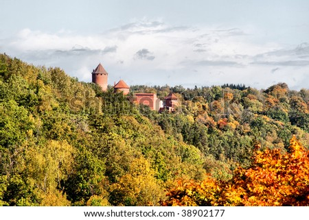 Turaida castle at Sigulda Latvia